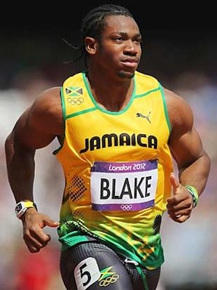 blakewatch2 Yohan Blake Wearing $500K Custom Watch might cost him