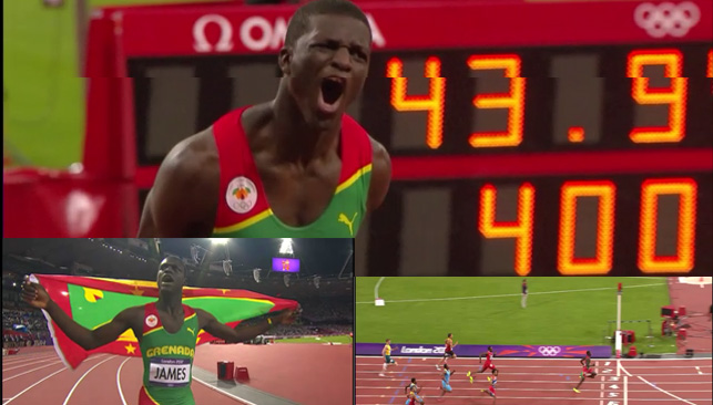 kirani Kirani James Wins Gold for Grenada