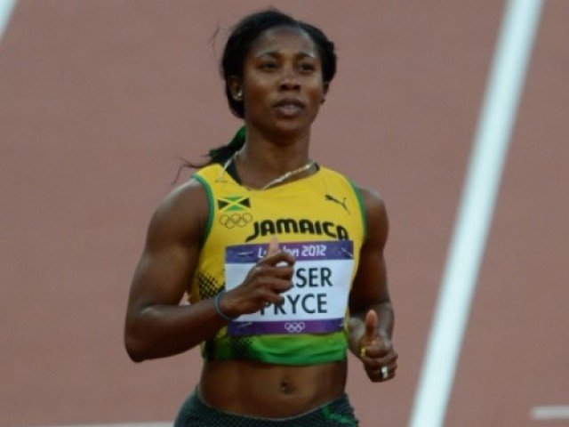 shellyannfraserprycea2 e1344118955461 Shelly Ann Fraser Pryce Defends Olympic 100m Title in London
