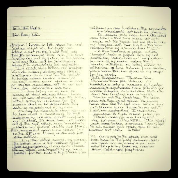 Kartels Letter 2