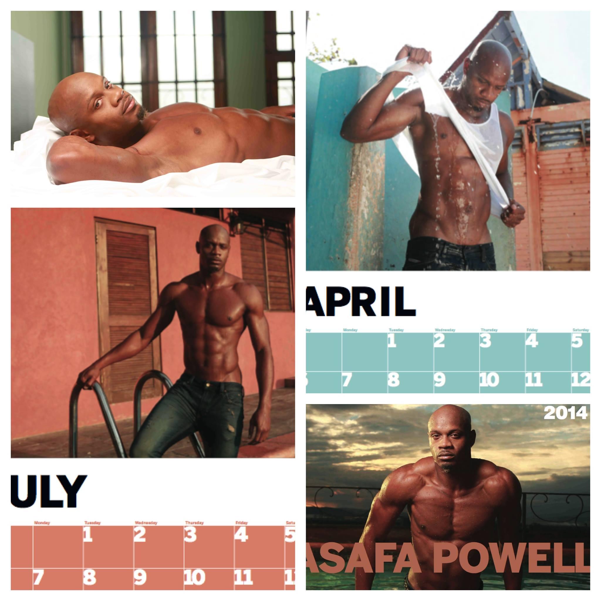 Asafa-Powell-2014-calender