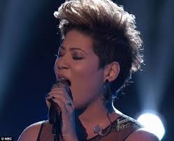 Tessanne Chin Makes the Final of The Voice, after Being #1 on iTunes