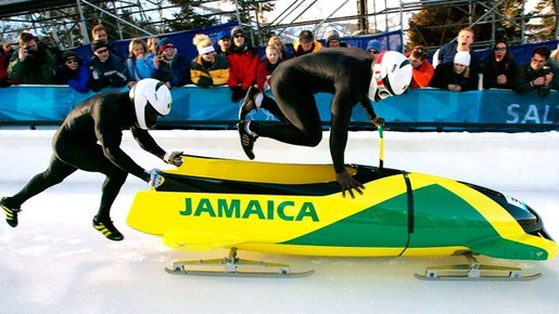 2-man-Jamaican-bobsled-team