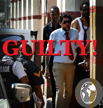 Vybz Kartel found guilty of murder and awaiting sentencing