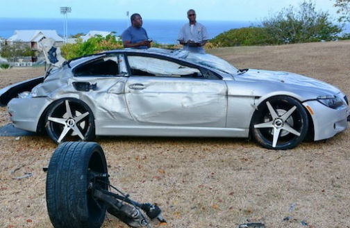 Kemar Roach Escaped Serious Injury in Car Accident
