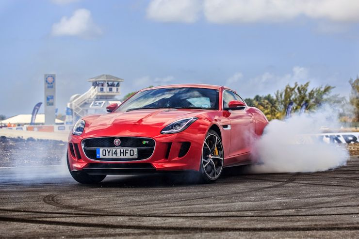 High Quality Jaguar F Type Top Gear Barbados Jaguar F Type Graces The Caribbean