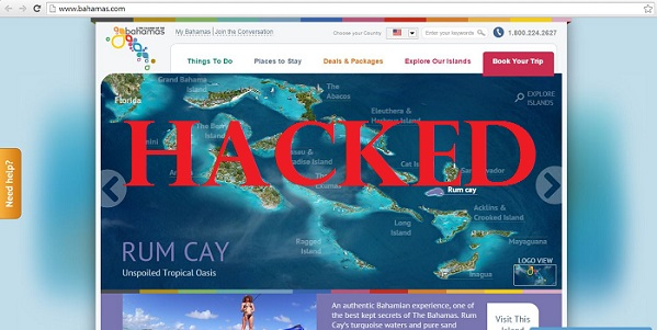 bahamas website hacked 1