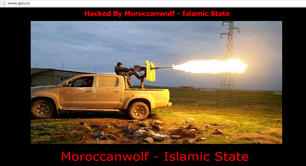 St. Vincent Government Website Hacked Islamic State (IS)