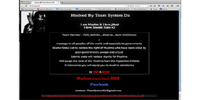 jis website hacked