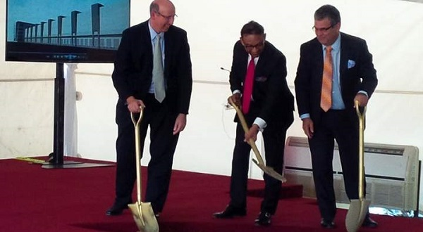 Unicomer Group Execs Turn Sod At Ceremony For Construction Of US$60 Million Distribution Centre in Trinidad