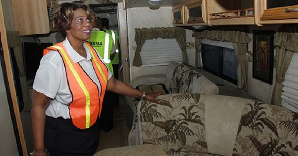 Bahamian Government Provides Temporary Trailer Homes As Part Of Disaster Relief Following Hurricane Joaquin