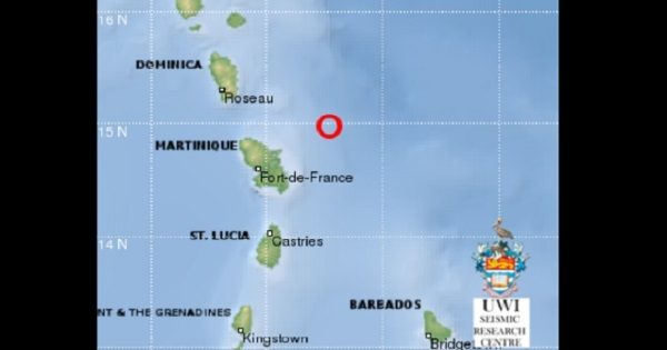 Sections Of Dominica, St. Lucia & Martinique Jerked By Earthquake