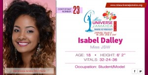 18-Year-Old Isabel Dalley Crowned Miss Universe Jamaica 2016