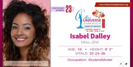 Isabel Dalley,62, is Miss Universe JAMAICA 2016