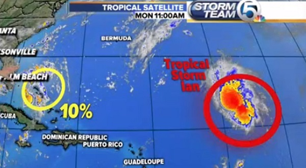 Two Latest Tropical Storms Formed Reported To Pose No Threat To The Caribbean