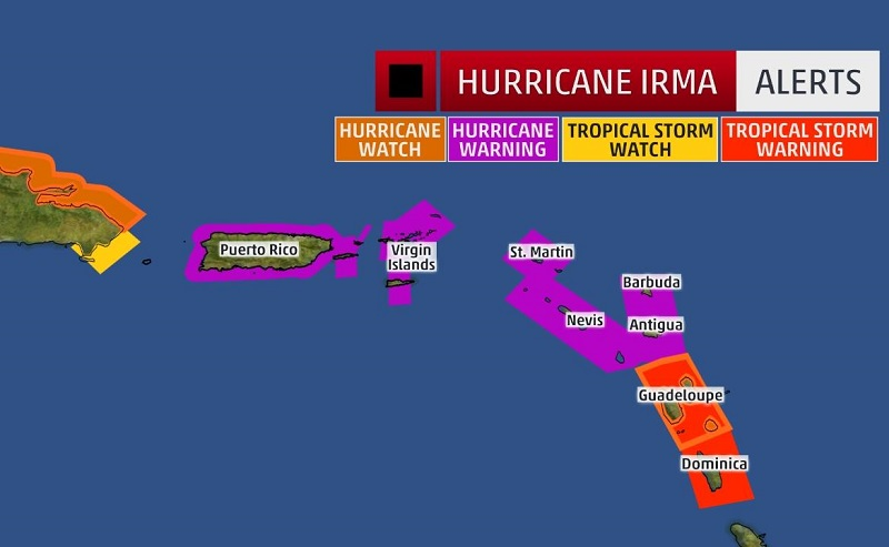 hurricane irma cat 5 2 Hurricane Irma Hits A Monstrous Category 5 On The Hurricane Wind Scale
