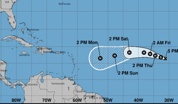 hurricane irma1 Hurricane Irma Hits A Monstrous Category 5 On The Hurricane Wind Scale