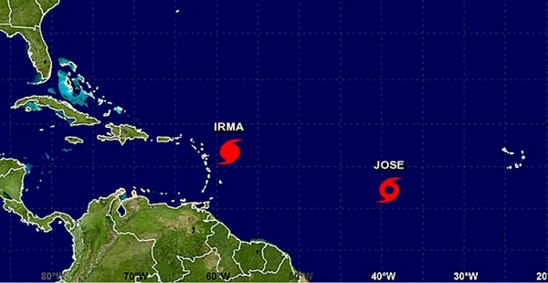 Islands Affected By Hurricane Irma In More Danger As New Tropical Storm Jose Strengthens