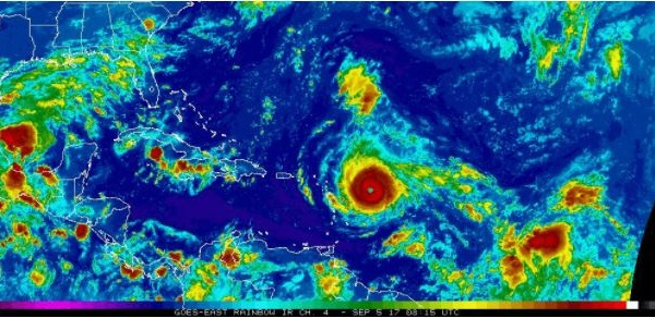 tropical storm jose 4