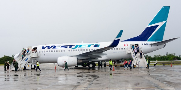 westjet in belize