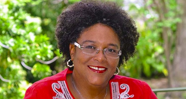 barbados new female pm